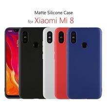Xiaomi mi 8 case sil