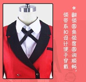 Image 4 - High Quality New Arrival Anime Kakegurui Cosplay Costume Jabami Yumeko Momobami Kirari Cosplay Costume Japanese School Uniform