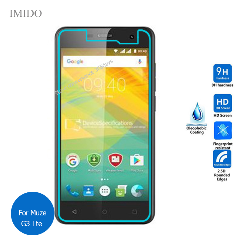 2PCS For <font><b>Prestigio</b></font> Muze G3 Lte Tempered Glass Screen Protector 9h Safety Protective Film For Psp 3511 on G 3 <font><b>PSP3511DUO</b></font> PSP3511 image
