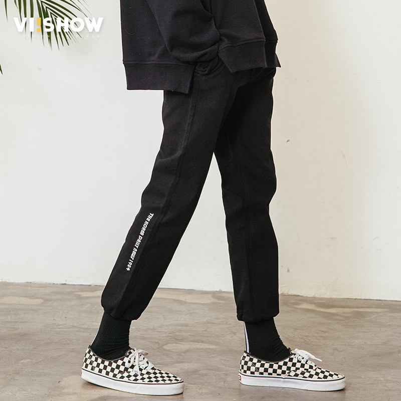 VIISHOW New Arrival Sweatpants Men Brand Clothing Letter Printed Jogger Pants Men Casual Quality Trousers Male KC1193181