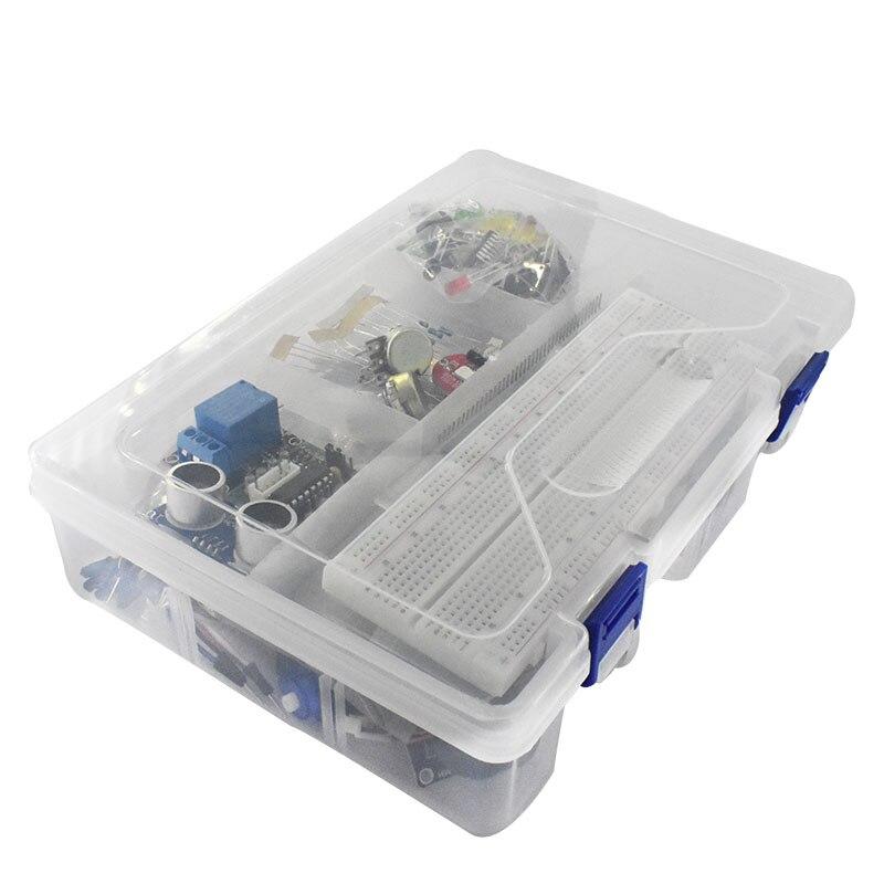 Стартовый комплект для Arduino Uno R3, макетная плата и держатель Step Motor / Servo /1602 LCD/Джампер Wire/Uno R3