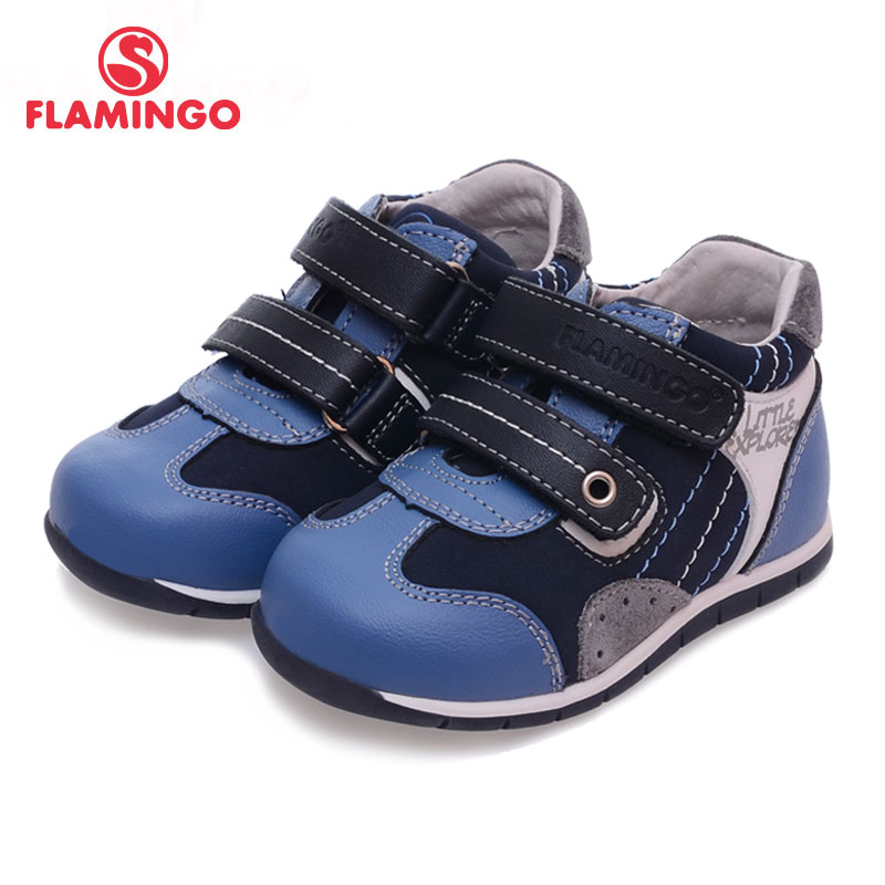 FLAMINGO 100% Russian Famous Brand 2016 New Arrival Spring & Autumn Kids Fashion High Quality shoes 61-XP102