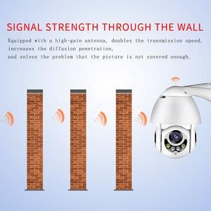 Image 5 - WIFI カメラ屋外 HD 1080P 2MP IP カメラワイヤレス Ptz スピードドーム CCTV セキュリティカメラ IP66 双方向オーディオ監視 SD カード