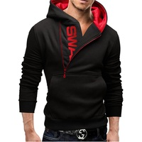 Assassins Creed Hoodies Men Letter Printed Male Hoodie Sweatshirt Slim Long Sleeve Mens Zipper Hooded Jacket