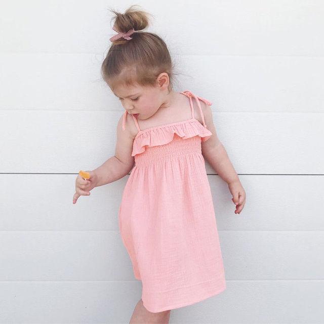 b608dc55e Pudcoco Toddler Infant Kids Baby Girls Dress Summer Dress Princess ...