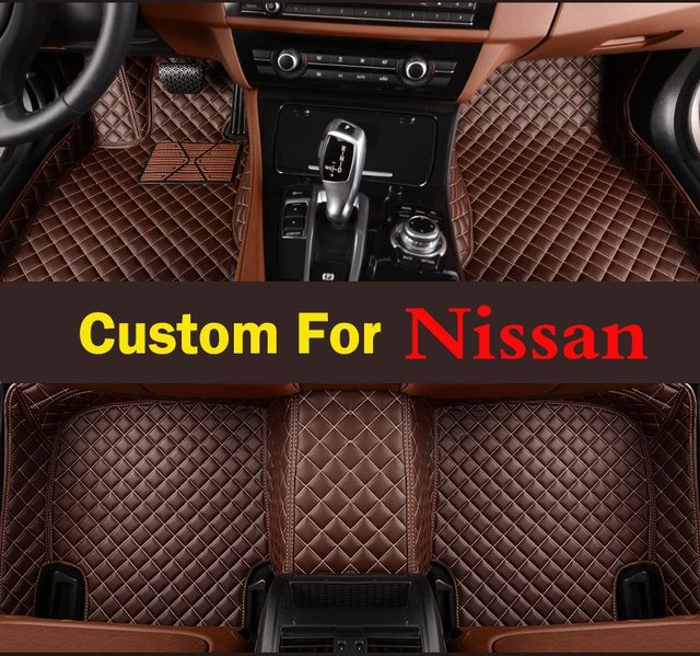 Car Lovely Styling Customized Perfect Fit Profession 3d Car Floor Mats For Nissan  Maxima 2009