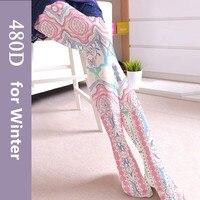 NOVIA SW-0212018 nuovo autunno e di inverno delle donne calzamaglia ispessito terry pressione collant COSPLAY stile nazionale femminile collant