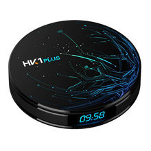Hk1 Plus Smart Tv Box Android 8.1 Os S905X2 Quad Core Lpddr4 4Gb 32Gb 2.4G/5G Dual Wifi Usb3.0 Bt4.0 4K Hdr H.265 Tv Set Top B evpad tablet i7 2gb 32gb smart android tv box 2 4g 5g dual wifi support dual sim card asia s free tv live channels