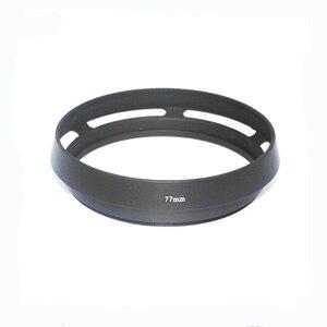 Image 2 - 10 יח\חבילה 72mm 77mm שחור מעוקל פורק מתכת מצלמה עדשת הוד ליקה M עבור Pentax עבור Sony עבור אולימפוס עבור canon עבור ניקון