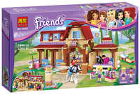 Friends Series Heartlake Riding Club sets 594 pcs Compatible with in building block kits Model Bricks Toy For Children