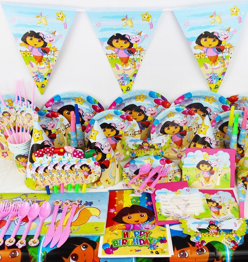 Dora Birthday Wall Decoration : Buy wholesale dora party supplies from china
