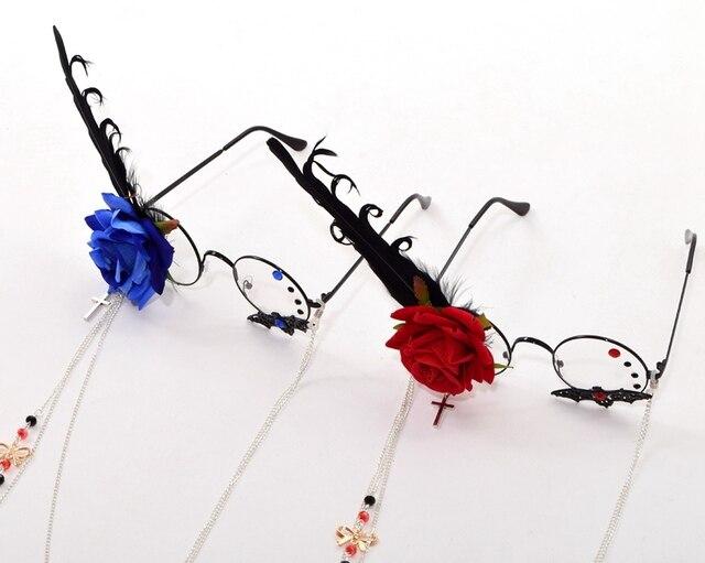 Фэнтези очки с розой