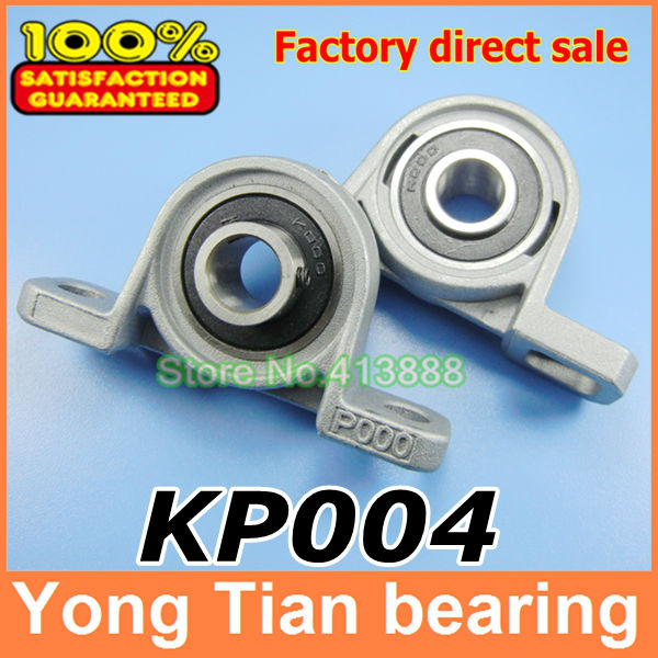 все цены на  20 mm bearing kirksite bearing insert bearing with housing KP004 pillow block bearing  онлайн