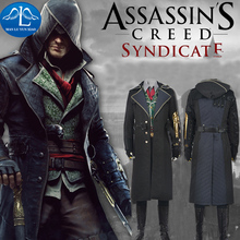 MANLUYUNXIAO New Arrival Game Character Assassins Creed Costume Syndicate Jacob Frye Costume Halloween Cosplay Costume For Men