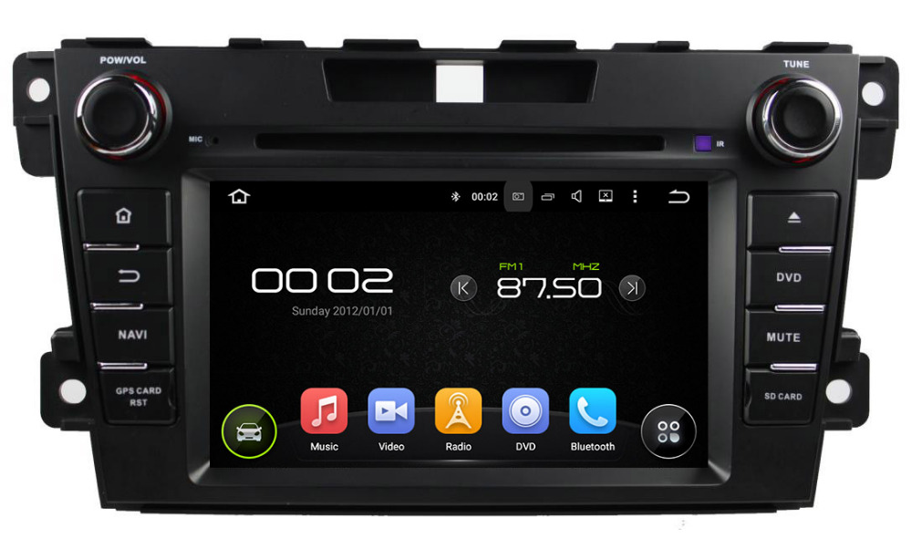 quad core android 5 1 car dvd gps for mazda cx7 cx 7 car radio stereo head unit capacitive. Black Bedroom Furniture Sets. Home Design Ideas