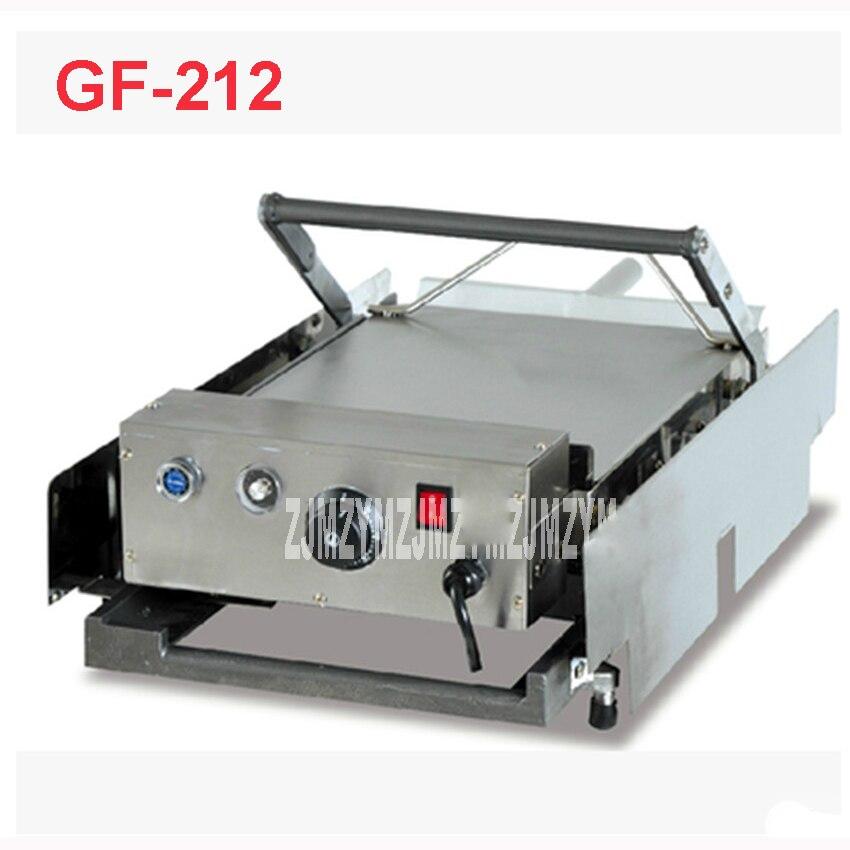 GF-212 hamburgers électrique voiture/panneau sandwich grille-pain/grill machine Matériel en acier Inoxydable 2000 W Hamburgers 220 V/50 HZ