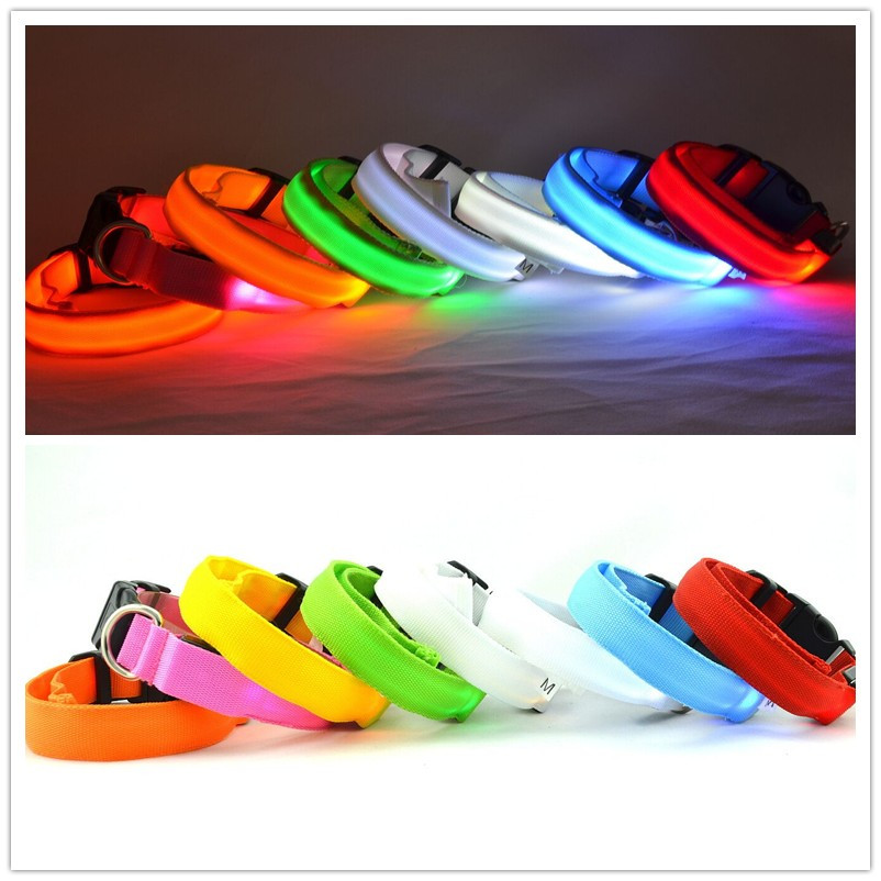 A08 lemmikloomade LED-krae ööohutuse hõõguv vilkuv koera - Lemmikloomatooted
