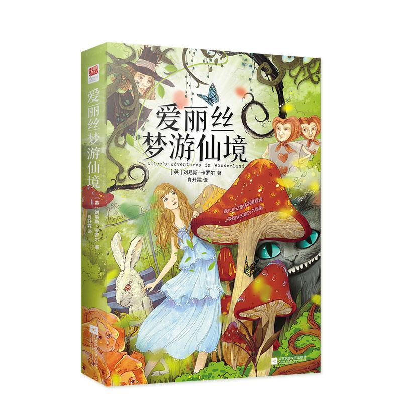 New Alice In Wonderland Fiction Book Children's Literature Fairy Tale Novel