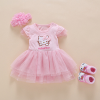 1st Birthday Princess Dresses For Girls Pink Infant Beautiful Dress Newborn Baby Dresses And Outfits Christening
