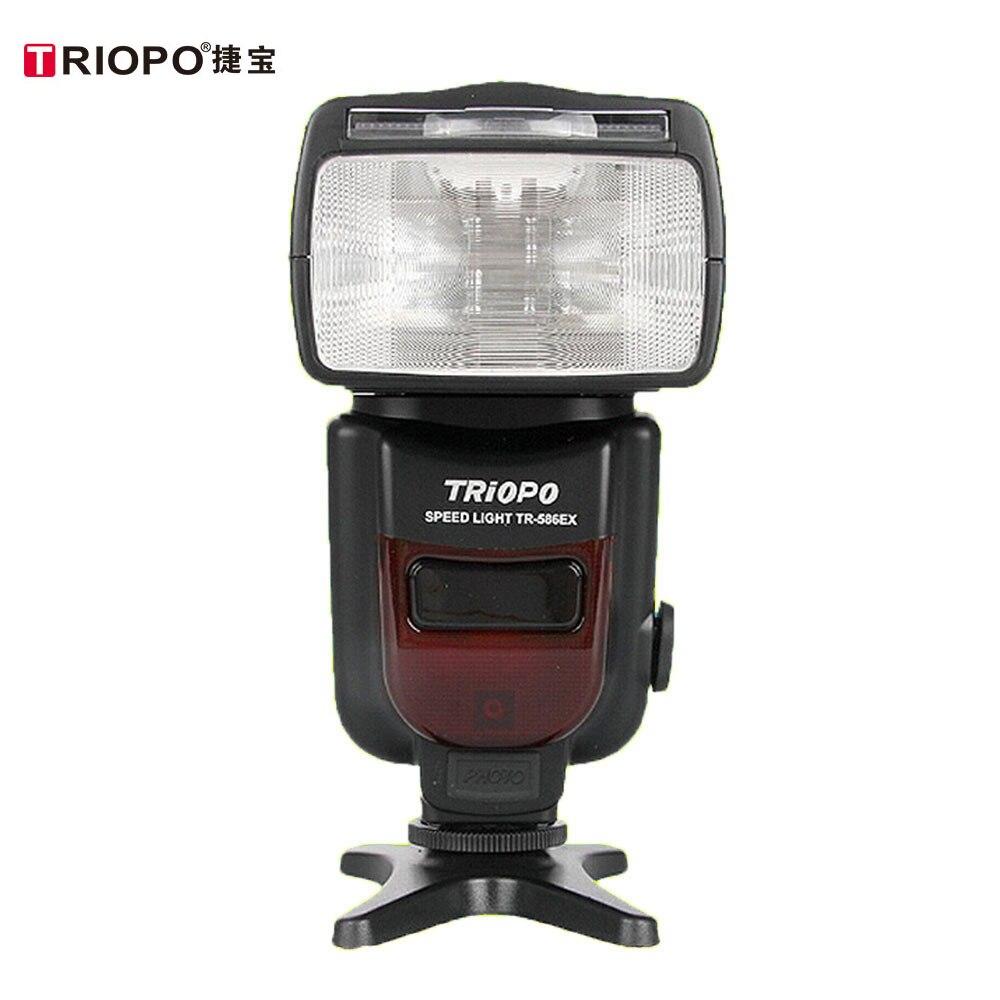 TRIOPO TR-586EX Wireless TTL Speedlite Flash Speedlight For Canon 6D 5D2 5D3 1200D DSLR Camera As Yongnuo YN565EXII YN-568EX II