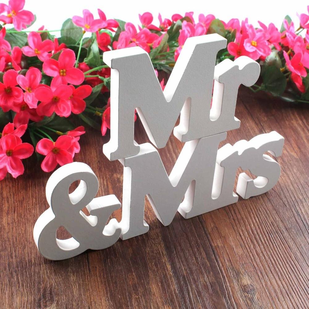 Wedding-decorations-3-pcs-set-Mr-Mrs-romantic-mariage-decor-Birthday-Party-Decorations-Pure-White-wooden (1)