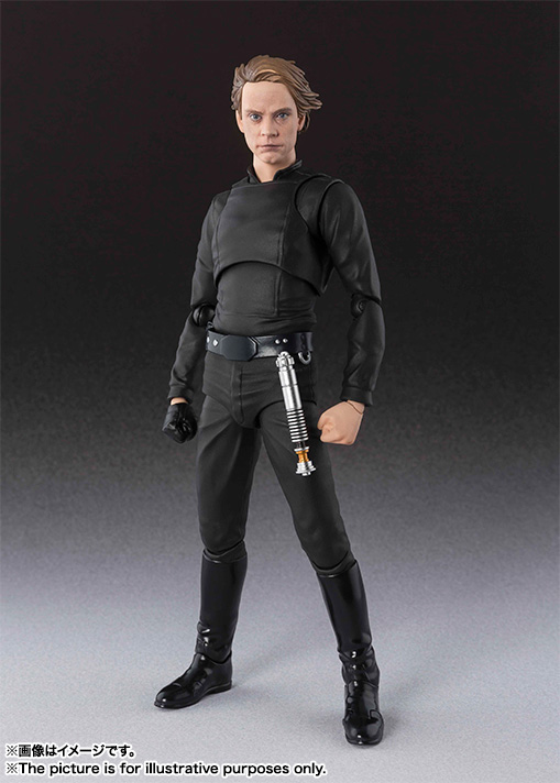 цены на SHF S.H.Figuarts Star Wars Luke Skywalker PVC Action Figure Collectible Model Toy 15cm в интернет-магазинах