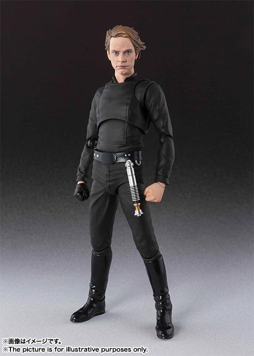 SHF S. H. Figuarts Star Wars Luke Skywalker PVC Action Figure Sammeln Modell Spielzeug 15 cm