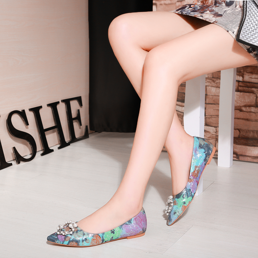 ENMAYER Spring High Heel Shoes Woman Square Toe Square Heel Platform Women Casual Shoes Lace up Dating Solid Shallow Lady Shoes - 2