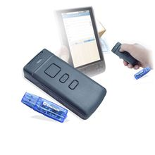 Portable Wireless Bluetooth CCD 1D Barcode Scanner PT20 For Mobile/ tablet/ PC