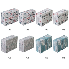 PEVA Clothes Quilt Storage Bag Waterproof Moisture-proof Cabinet Sorting Container Folding Holder Home Organization
