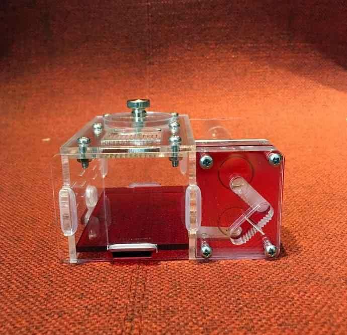 Новые мини 2 шт стеклянные трубки acryl ic Ants гнездо для sientify Abservation Granja de гормональный Nid Fourmis насекомое acryl Ant фермы