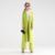 YIGELILA 9390 Última Primavera Nuevas Mujeres de La Moda Verde Largo Trench Coat