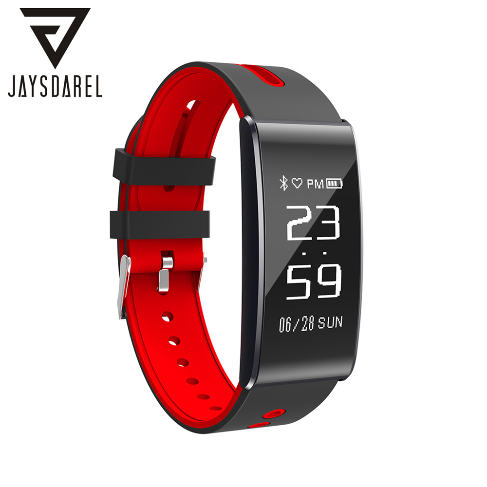JAYSDAREL S13 Smart Watch Heart Rate Blood Pressure Oxygen Monitor IP67 Waterproof Bracelet Fitness Tracker for Android iOS jaysdarel heart rate blood pressure monitor smart watch no 1 gs8 sim card sms call bluetooth smart wristwatch for android ios