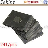 241pcs/set BGA stencil 90*90mm BGA templates BGA Reballing Station For PS3 MTK NV ATI CPU AMD DDR CXD