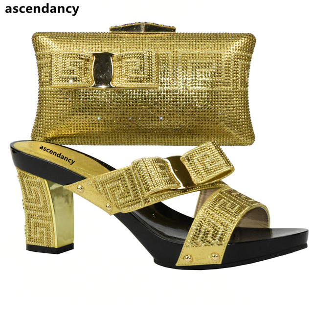 Pink High Quality 2017 Shoes and Bag Set African Sets Italian Shoes with Matching Bags New Arrival Women Shoe and Bag To Match