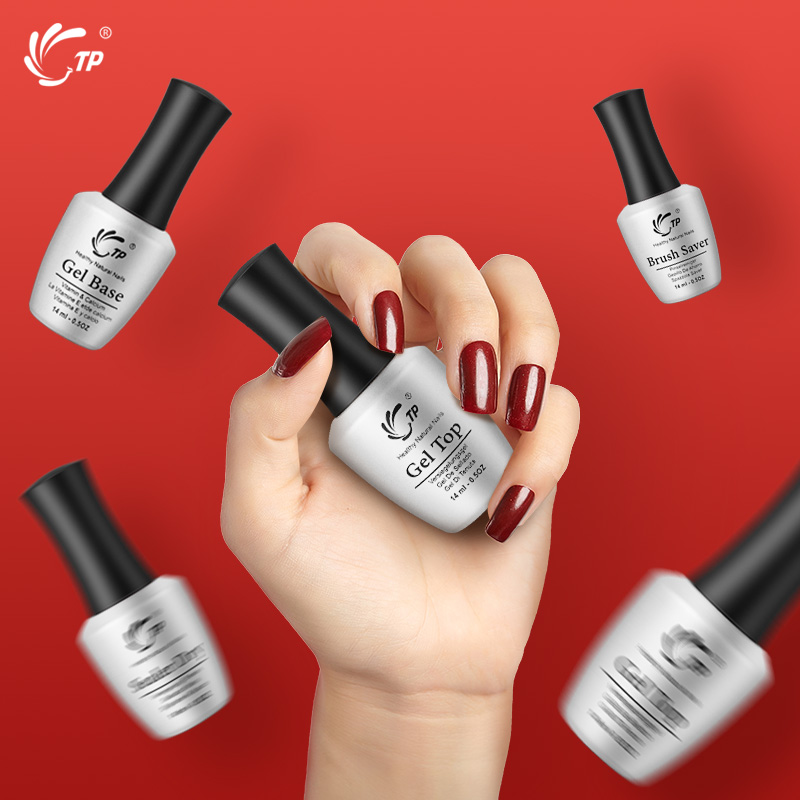 Tp 14ml Top Coat For Dip Powder Natural Dry Salon Professional Nail Beauty Manicure Varnis