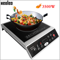XEOLEO Induction cooker Commercial Electromagnetic Heating Cooker Household Electromagnetic furnace Electromagnetic Stove 3500W
