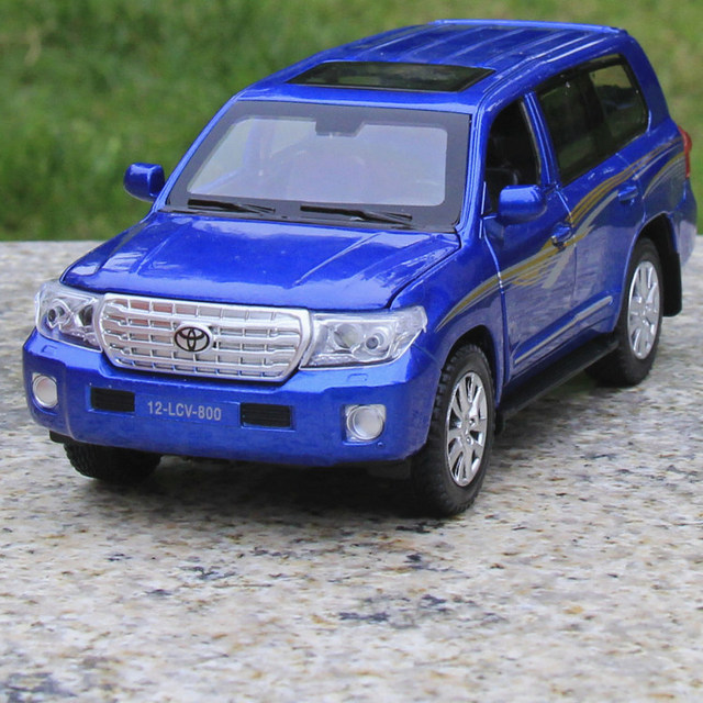 1 32 Voiture Cars For Suv Land Cruiser V8 Cast Scale Car Model Alloy Vehicle