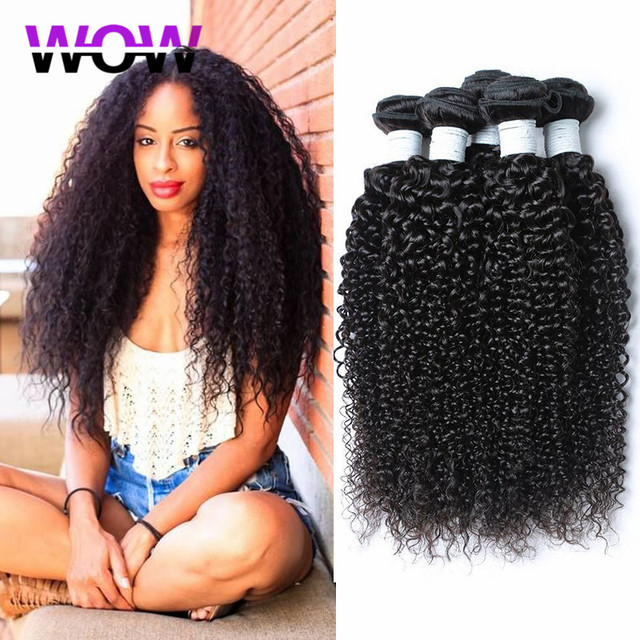 brazilian kinky curly virgin hair 4 piece lot brazilian hair weave bundles brazilian curly virgin hair selling products online