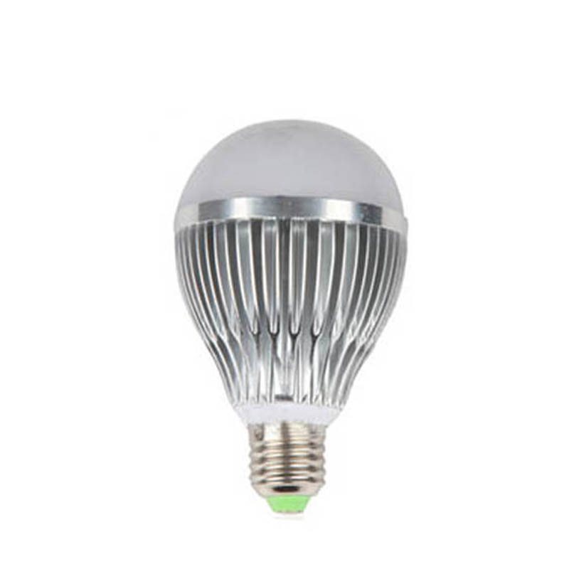 100X Wholesale high quality 9W led bulb light high power led lamp for indoor lighting express free shipping