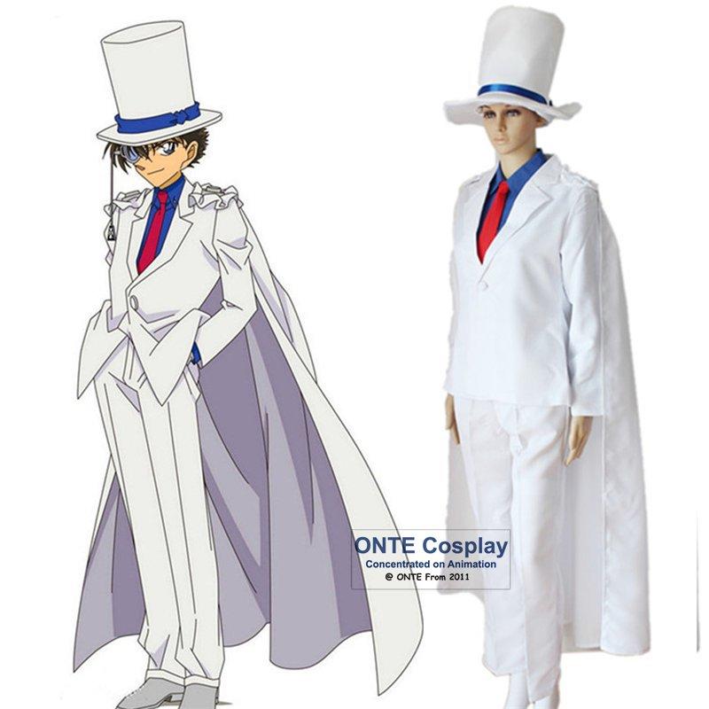 6 in 1 Detective Conan Cosplay Kids the Phantom Thief Clothing Fancy Adult School Uniform for Halloween Masquerade