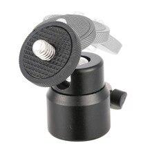 Mini Hot Shoe Adapter Cradle Ball Head with Lock for Camera Tripod