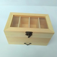 Treasure Chest Solid Wood Sewing Box Suit Europe And South Korea Sewing Kit Home Storage Needle