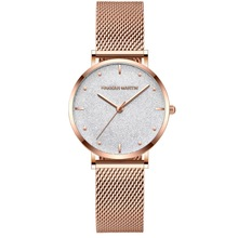Ladies Wrist Watches Top Brand Luxury Starry Sky Quartz Watch Women Rose Gold Stainless Steel Waterproof Clock relogio feminino dom women watches luxury brand quartz wrist watch fashion casual gold stainless steel style waterproof relogio feminino g 1019