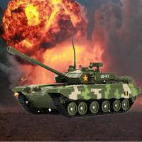 4D Tank Model Building Finished Product S Model RP1008 1/72 ZTZ 99A Chinese Main Battle Tank Alloy+Plastic Tank Model Toys