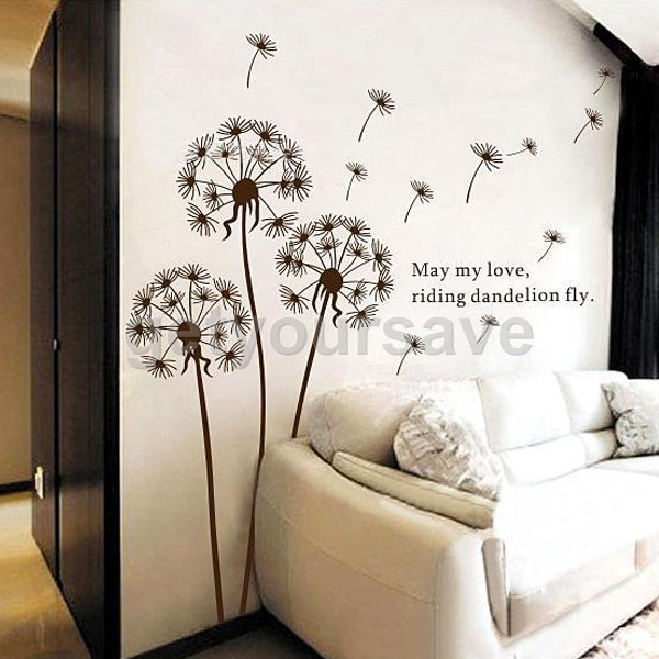 Removable Art Vinyl Quote DIY Dandelion Wall Sticker Decal Mural Home Room  #Buy