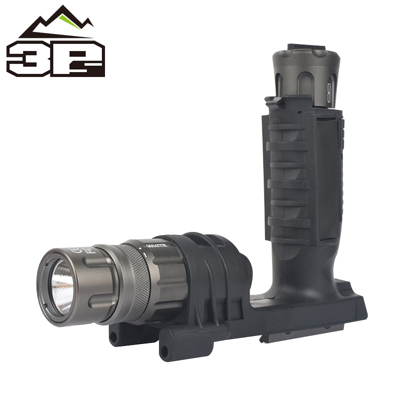 Reliable Seigneer Tatical M900v Vertical Foregrip Led Flashlight Weapon Light Lamp Traveling with Sf Lettering