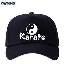 2019 Summer Yin Yang Gossip Karate Novelty Printed Baseball Caps Cotton Female Sun Cap Black Snapback Fashion Hats For Men&Women