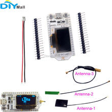 433MHz 0.96 OLED ESP32 Development Board LoRa Module Wifi Transceiver IOT SX1278 Antenna 1.25mm JST Connector dstike wifi packet monitor v3 preflashed d duino 32 sd esp32 wrover oled wifi ble iot development kit battery charge esp32