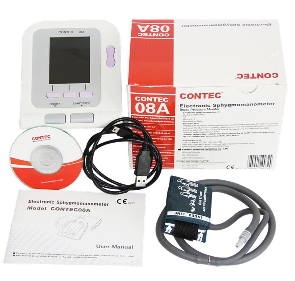Здесь продается  CONTEC08A  Electronic Sphygmomanometer + SPO2 Probe +Softeware    Красота и здоровье